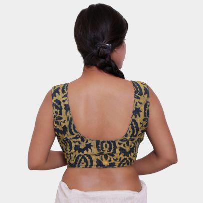 Cotton saree blouse