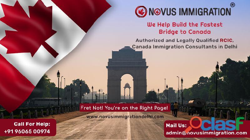 Canada immigration consultants in delhi  novusimmigirationdelhi.com