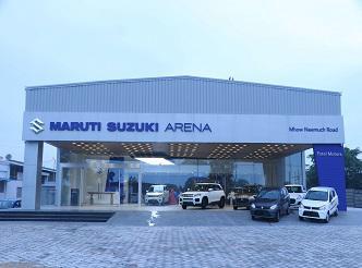 Dial patel motors arena maruti suzuki neemuch contact number