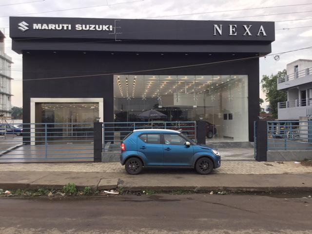 Visit swg car world maruti suzuki nexa showroom durgapur