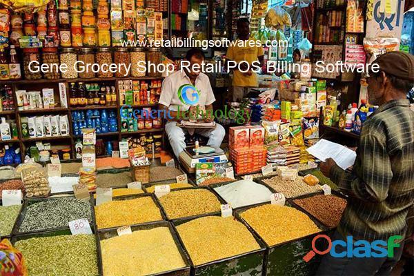 Gene Grocery Shop Retail Billing Software