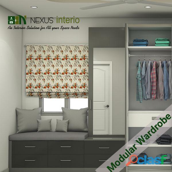Get Modular wardrobe manufacturers Delhi NCR