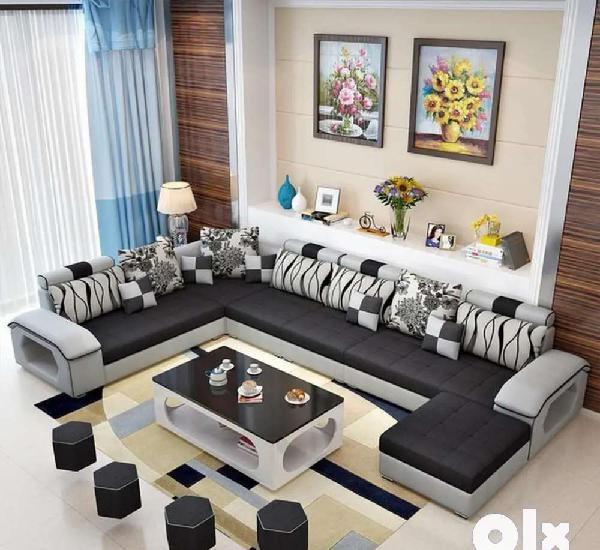 Newly made u shape sofa set direct from factory at factory