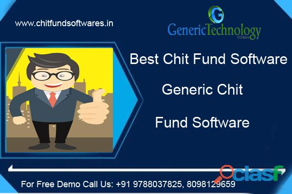 Best Chit Fund Software Generic Chit Fund Software