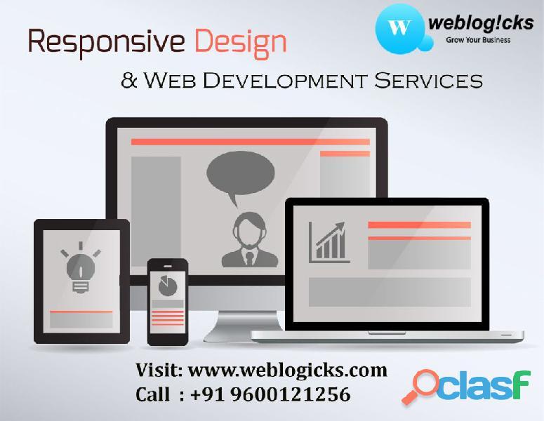 Web Design Company in Bangalore | SEO Optimised Websites | weblogicks.com
