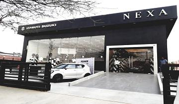 Visit auric motors nexa maruti car dealership jaipur road