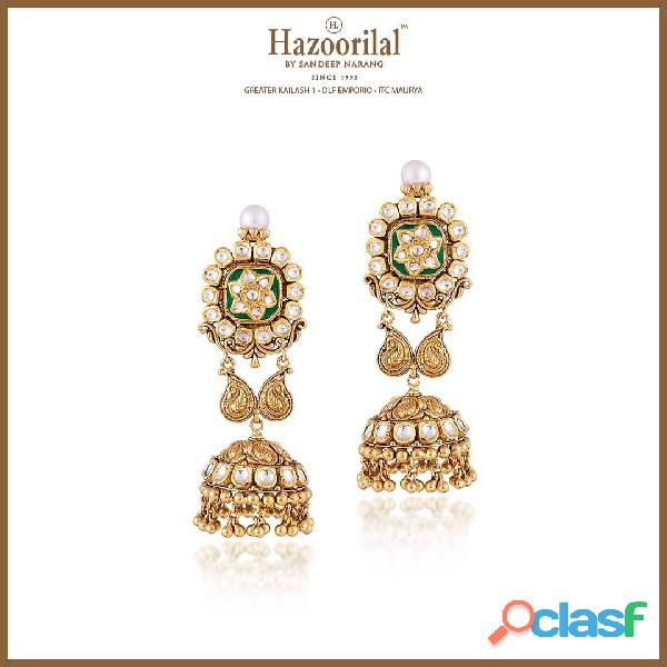 Hazoorilal designer jewellery is indeed the very best in Delhi.