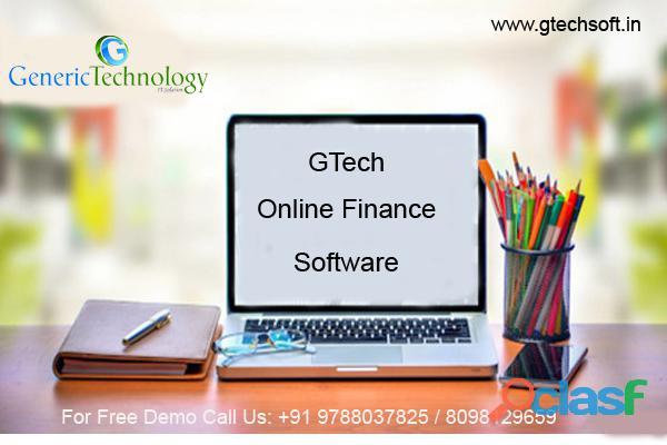 GTech Online Finance Software Features