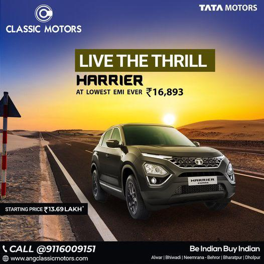 Best deal with classic motor | tata showroom in alwar and