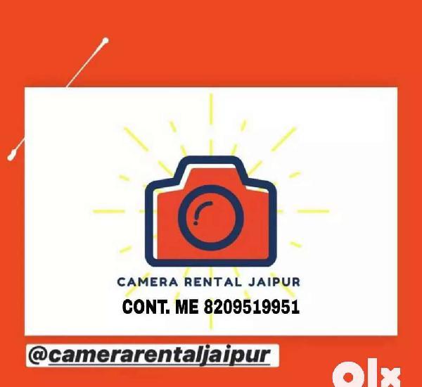 Dslr camera on rent 399/- per day
