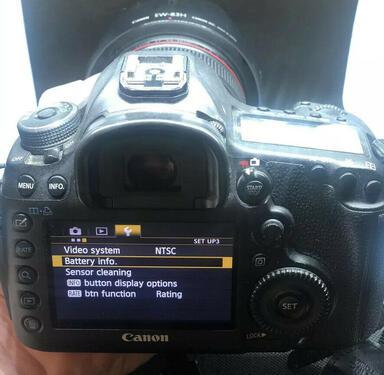Canon eos 5d mark iii digital camera with canon ef 24105mm