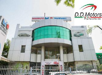 Dial dd motors wazirpur contact number to buy new car