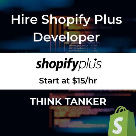 Shopify plus ecommerce development agency - thinktanker -