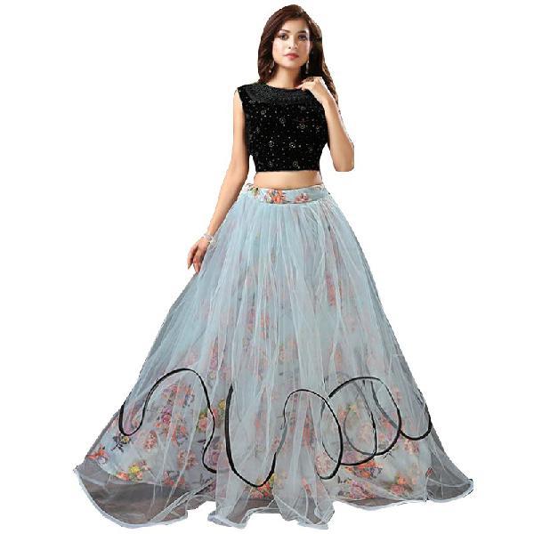 Women fashion indo western lehenga