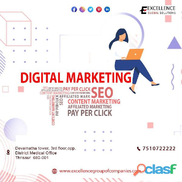 Digital Marketing Thrissur | Excellence Group