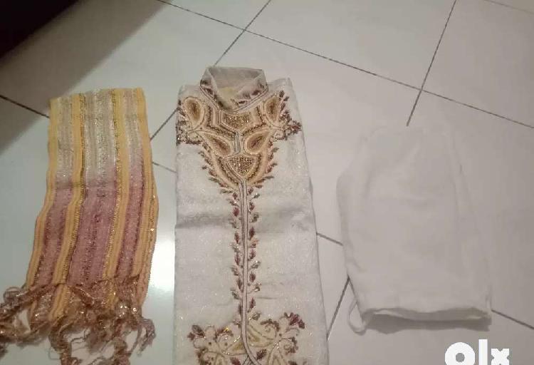 Brand new sherwani at throw away price 400 rs for 6 to 7yrs