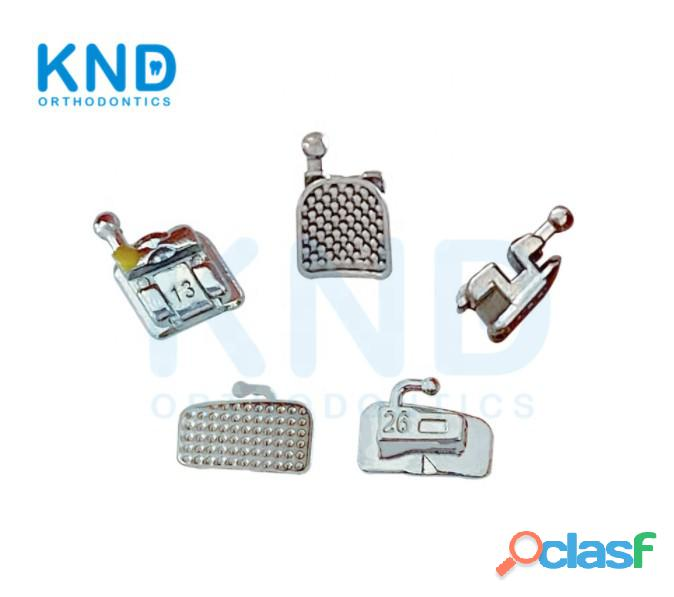KND ortho good quality Dental materials metal self ligating brackets orthodontics