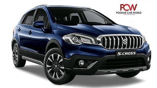 Know nexa s cross car price in guwahati at poddar car world