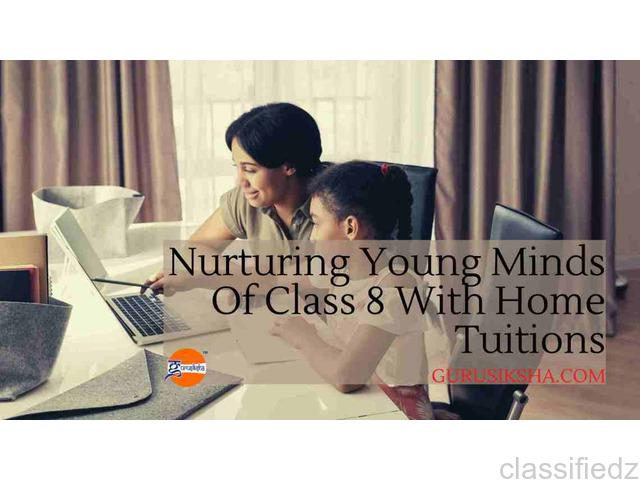 Nurturing young minds of class 8 with home tuitions kolkata