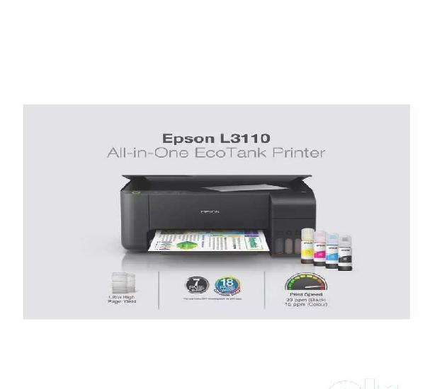 New epson l3110 all in one color printer@ just rs 10,800
