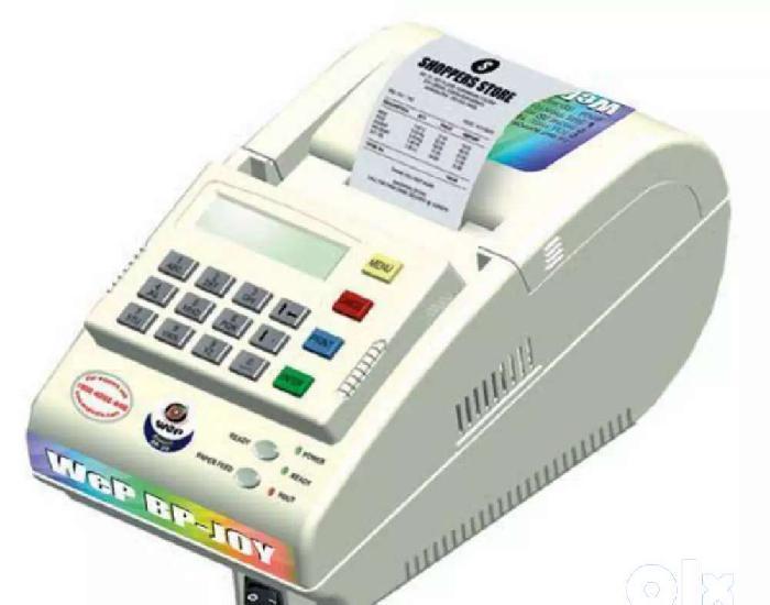 Rarely used wep india bp joy billing printer, 2-inch, 700