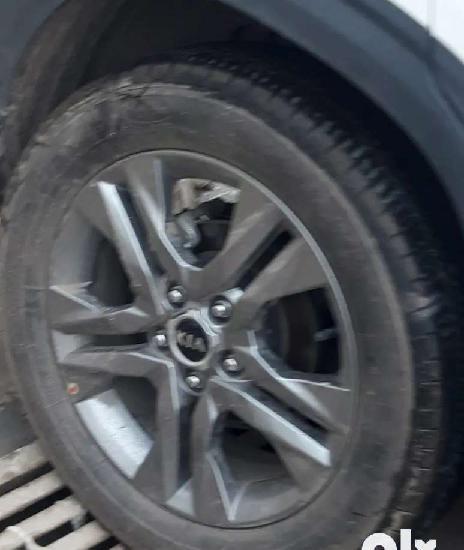 Seltos htx plus alloy wheel