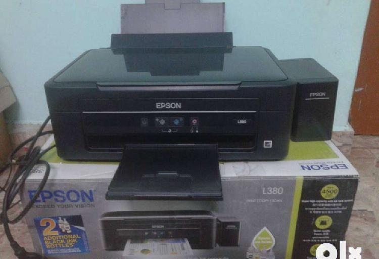 Used epson l380 print copy scan