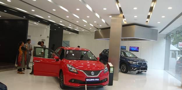 Visit goyal motors pvt ltd nexa maruti showroom solan
