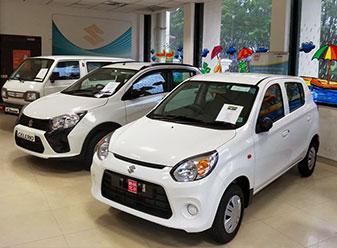 Visit madhusudan motors authorized maruti suzuki showroom in