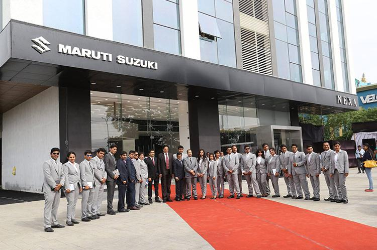 Visit patel motors maruti suzuki nexa showroom indore