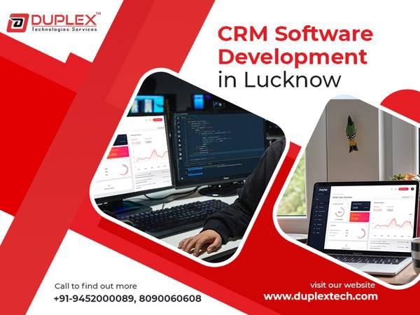 Crm software development company in lucknow - computer
