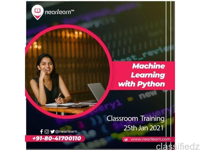 Machine learning with python classroom training in bangalore