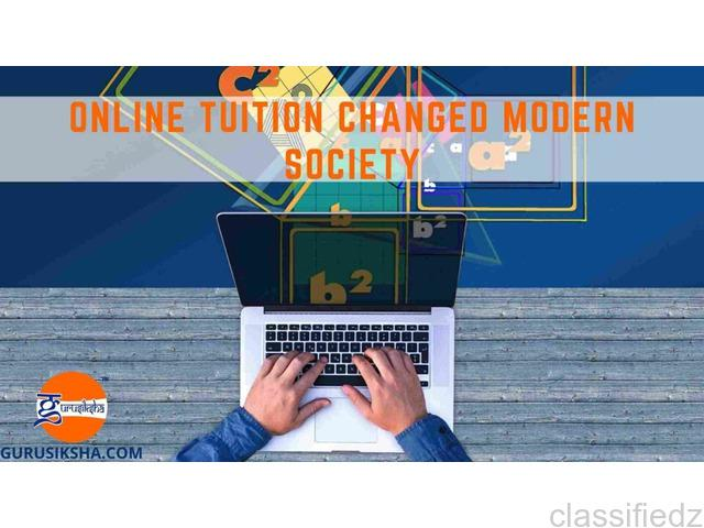 Modern society has changed after the inclusion of online