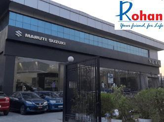 Rohan motors - prominent nexa maruti dealer noida