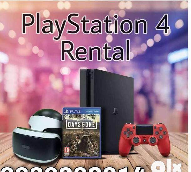 Ps4 rent with very low price includes games