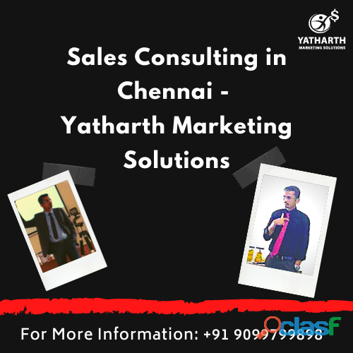 Sales consulting in chennai   yatharth marketing solutions