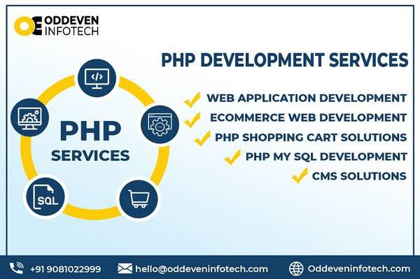 Best php development services in india | oddeven infotech -