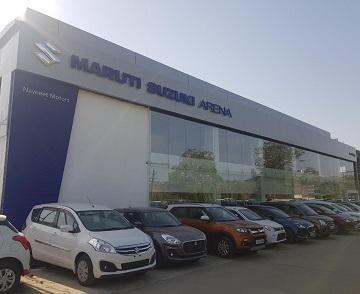 Visit navneet motors maruti suzuki car showroom in udaipur