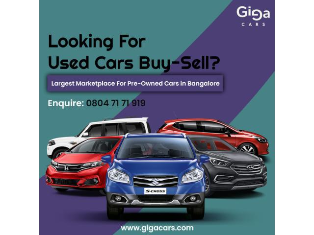 Used cars in bangalore - second hand cars for sale  
