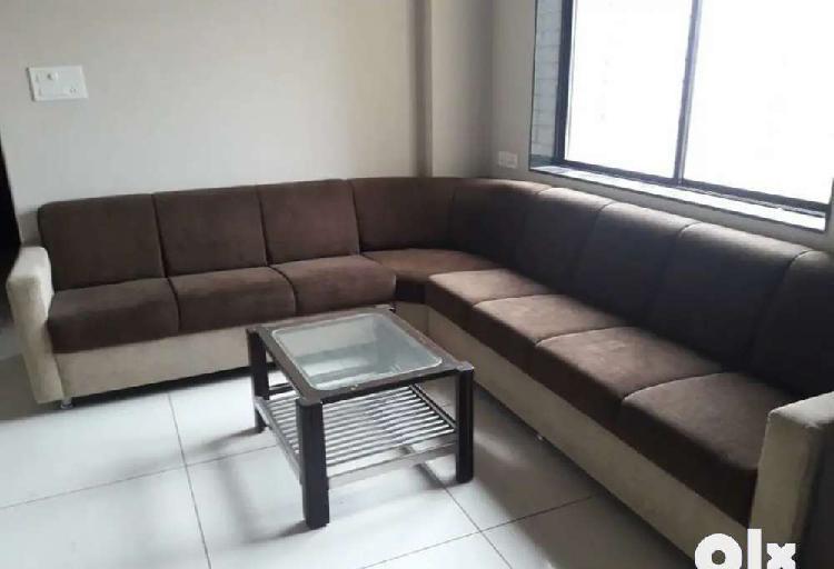 Nice 3 bhk full furnished flat near synergy hospital,