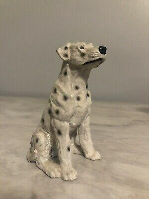 Vintage dalmatian dog figurine knick knack fire