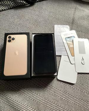 Original apple iphone 11 256gb black unlocked cal 9643390259