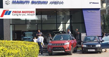 Visit prem motors maruti car showroom in gurgaon