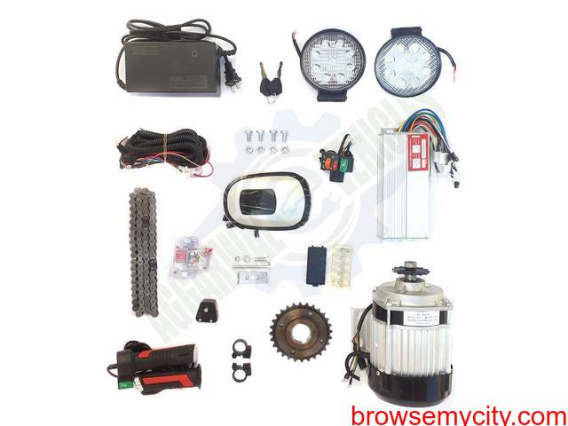 Paddel rickshaw kit