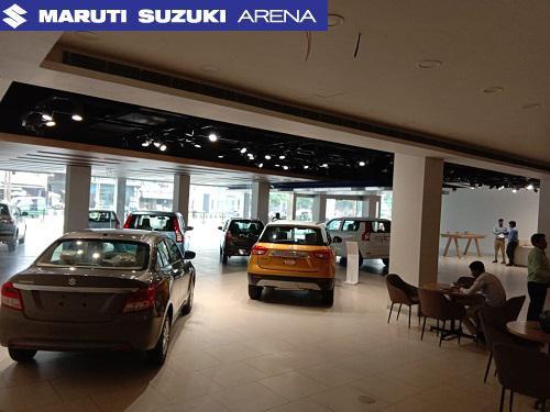Tr sawhney motors maruti suzuki arena meerut showroom