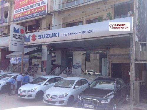 Visit tr sawhney maruti showroom for best offer on cars