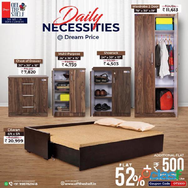 Home furniture online in mumbai   buy sofa cum bed in mumbai   offtheshelf.in