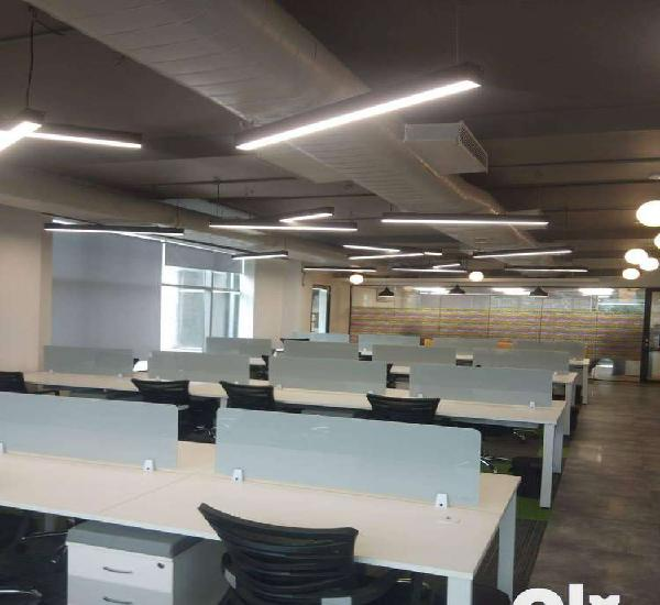 Plug n play 30 seater furnished office for rent/lease at new