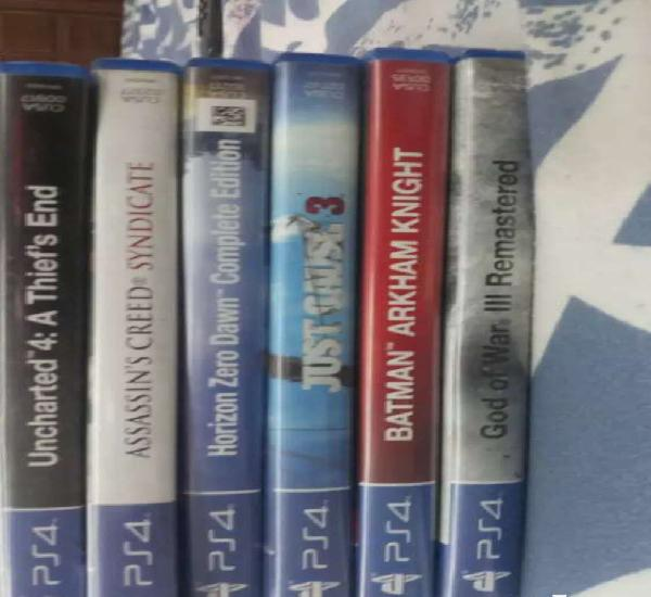 Sony ps4 games