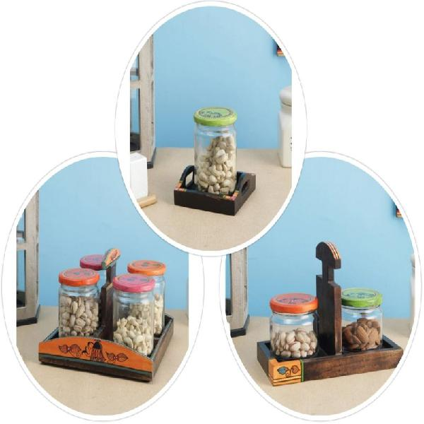 Latest collection of glass jars online @ wooden street